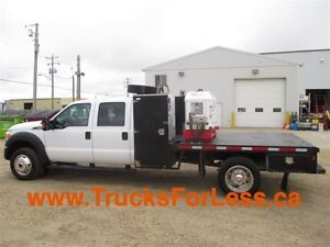 2012 ford F-550 XLT 4X4, CREWCAB, 11' DECK + TWISTER COMP...