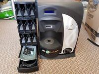 Kenco singles coffee machine & dispencer