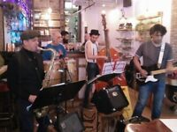 Bass Player Latin/Jazz London Based Semi Pro Band Doing a mixture of Instrumentals And Vocal Covers