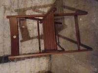 Terje Ikea folding wooden chair