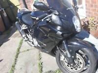 Motorbike motorcycle hyosung comet 650r