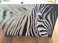 Zebra Canvas from IKEA