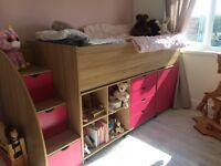 Single Cabin bed mid sleeper