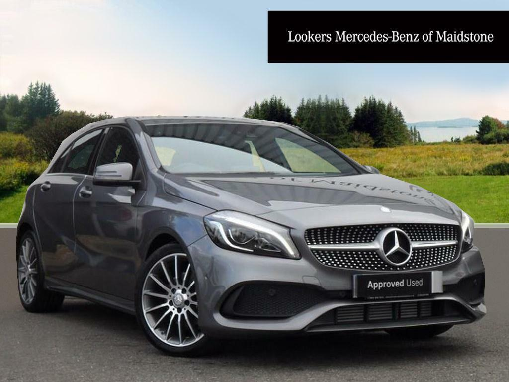 mercedes benz a class a 200 d amg line premium grey 2016 07 12 in maidstone kent gumtree. Black Bedroom Furniture Sets. Home Design Ideas
