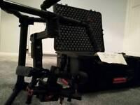 DJI Ronin M 3 Axis Gimbal, Hardcase & Thumb Controller