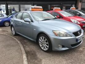 LEXUS IS 2.2 220D SE 4d 175 BHP (blue) 2007