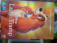 Brand new lady and the tramp dvd