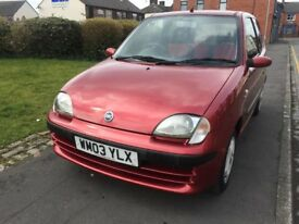 FIAT SEICENTO ACTIVE 1.1 3D 45000 MILES (2 OWNER NO ADVISORY)