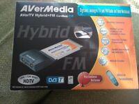 AVerMedia, AVerTV Hybrid+FM Cardbus Digital/Analogue Tuner for Laptop