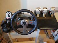 Logitech G25 Racing Wheel & Pedal Set