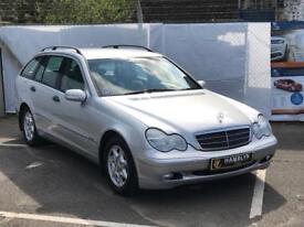Mercedes Benz C180 Classic, Estate, Automatic, Low Miles, Cruise Control, 12 Month Mot, Warranty