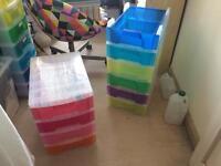 Really Useful Rainbow Craft Drawers