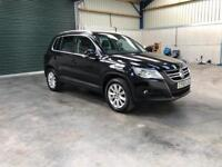 2010 vw Tiguan 2.0tdi 140bhp 4motion full leather 1 owner guaranteed cheapest in country