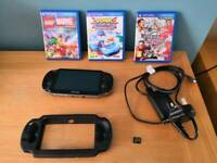 Sony PS (Playstation) Vita with 3 games and memory card