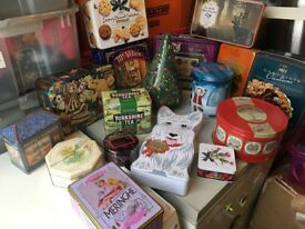 job lot of tins some collectible in various conditions