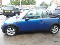 Mini One CONVERTIBLE,stunning looking Mini,half leather interior,runs and drives nicely,great mpg