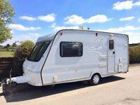Fleetwood Cholchester 2 Berth Caravan With Motor Mover - Lightweight Caravan