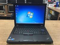 Lenovo Thinkpad T410 Core i5 M520 2.40GHz 4GB RAM 160GB HDD Webcam Win 7 Laptop