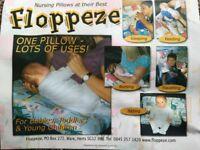 Floppeze Nursing pillow.
