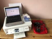 laptop (netbook) & printer