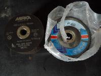 100 mm steel cutting discs sanding discs p60