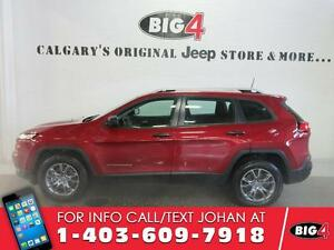2016 Jeep Cherokee Sport, V6, Bluetooth, Heated Seats, Alloys