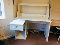 IKEA Desk, with a unit in good condition for just £10