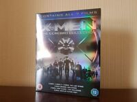 X-Men The Cerebro Collection Blu-Ray (7 films) - Brand New