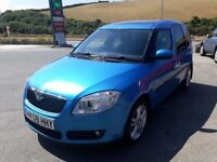 SKODA ROOMSTER 3 1.6 16V AUTO, 2008, ALLOYS, A/C, FORNT FOGS, CRUISE, CD MP3, NEW MOT, CLEAN & TIDY