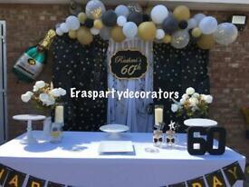 Balloon decorator/balloon arch/balloon garland/balloon display/party decorator/backdrop/affordable