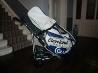 1-PW Callaway x12 irons, Tour bag, Electric Remote control trolley, driver & wedges
