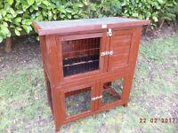 2 tier pet cage/run