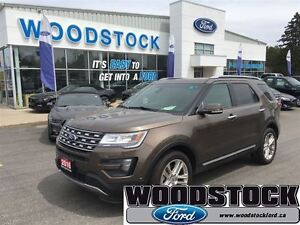 2016 Ford Explorer Limited, COMPANY CAR, LOW RATES OAC