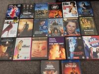 19 various dvds and 1 blue ray