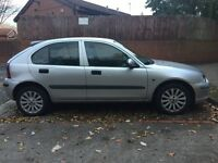 ROVER 25 1.4 PETROL-12 MONTHS MOT-ELECTRIC WINDOWS & MIRRORS- CD PLAYER-CENTRAL LOCKING- 2 KEYS+FOBS