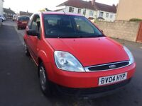Ford Fiesta 1.25 Zetec Low miles 59,000 New M.O.T New Cambelt