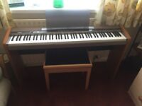 Casio Privia PX-100 Electronic Piano/Keyboard with stand