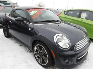 2014 Mini Cooper cuir // auto / bluetooth // sieges chauffants
