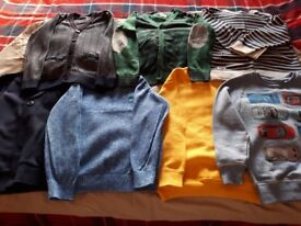 Boys Jumpers and Cardigans Age 5-6