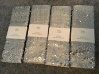 BN 8 SEQUIN MARKS AND SPENCER M&S PLACEMATS
