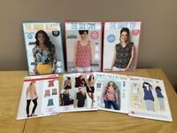Selection of sewing patterns