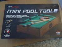 Table Top Pool Table £6