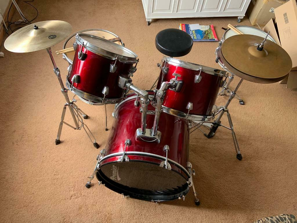 Premier drum set | in Worksop, Nottinghamshire | Gumtree