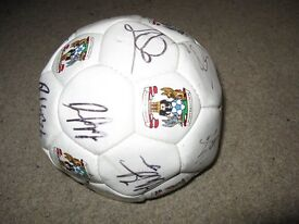 Signed Coventry City Football