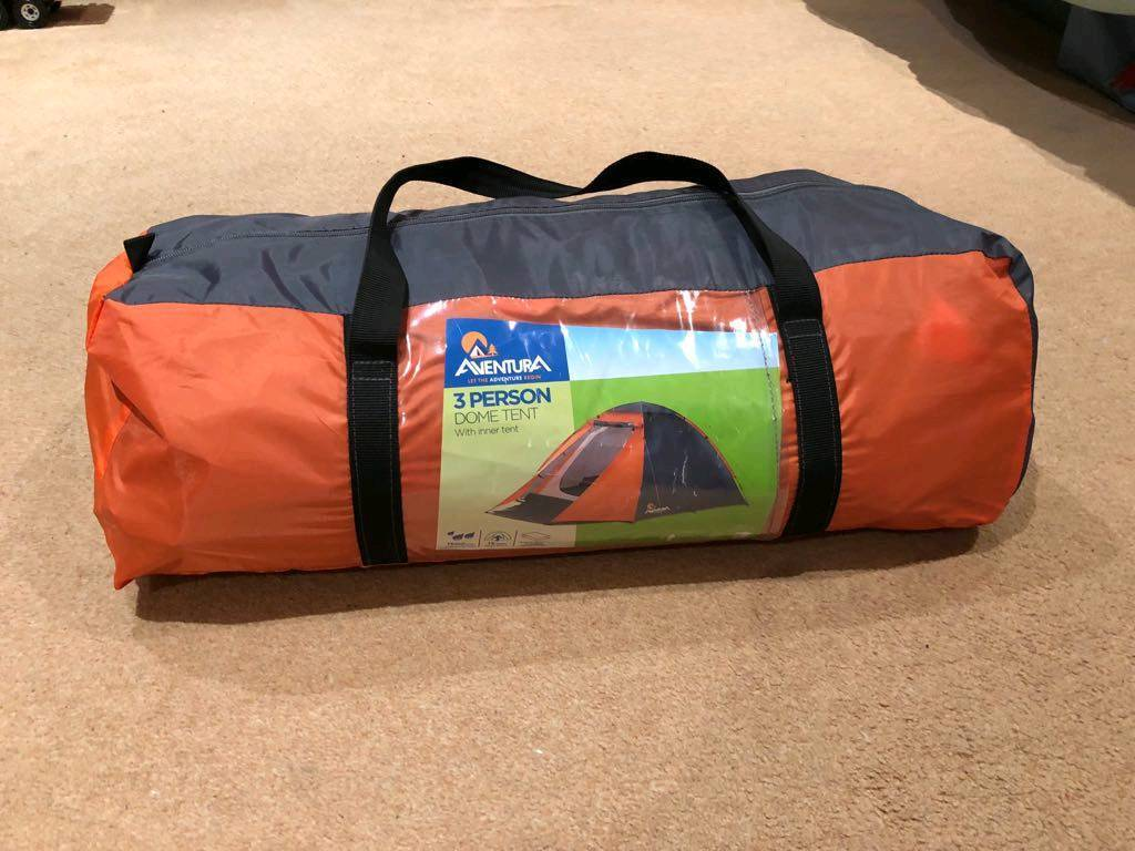 3 person tent, used only twice