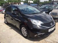 Nissan Note 1.2 Acenta 5dr£4,995 p/x welcome FREE 1 YEAR WARRANTY, NEW MOT