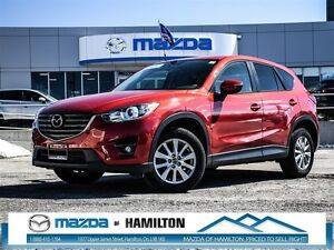 2016 Mazda CX-5 GS AWD LUXURY LEATHER NAVIGATION SUNROOF