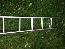 Ladder - Abru 2 section 3m 10ft aluminium - new