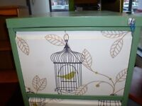 Up cycled Metal Filing Cabinet- CHARITY