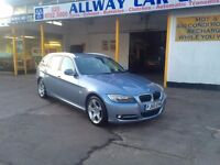 BMW 3 Series 2.0 320d Exclusive Touring 5dr.1 OWNER.BMW HISTORY. WARRANTY.2 KEYS.1yr MOT